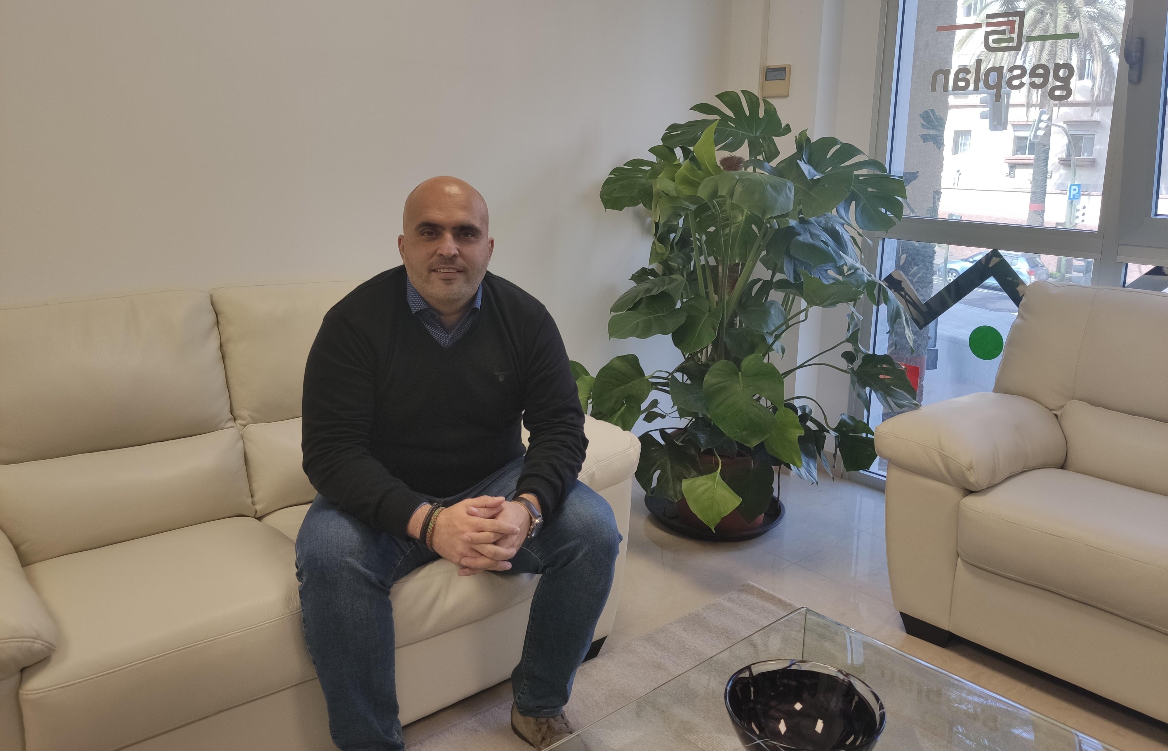 Agoney Piñero, consejero delegado de Gesplan / CanariasNoticias.es