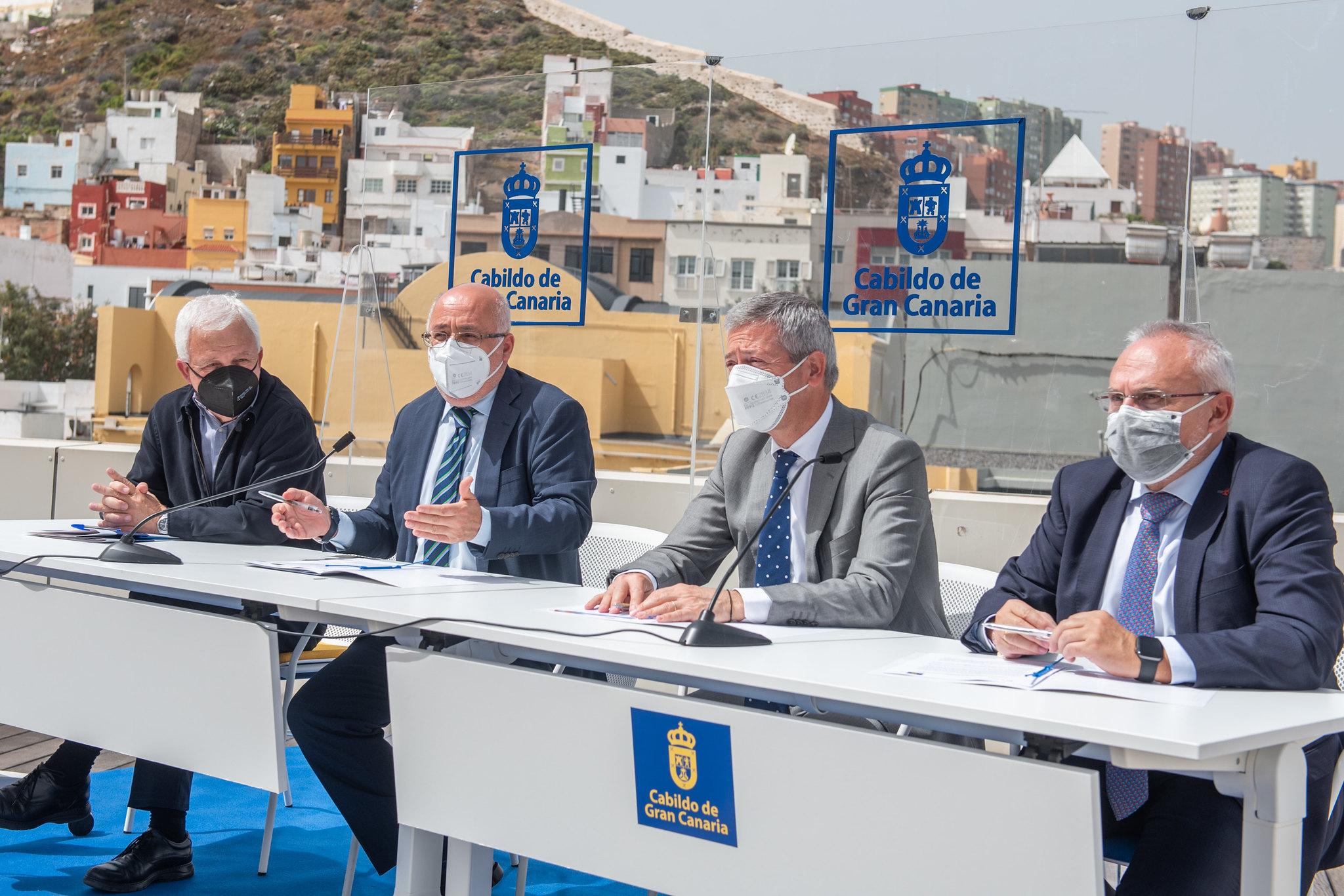 El Cabildo de Gran Canaria y la Confederación Canaria de Empresarios firman acuerdo para impulsar proyectos de cooperación con África / CanariasNoticias.es