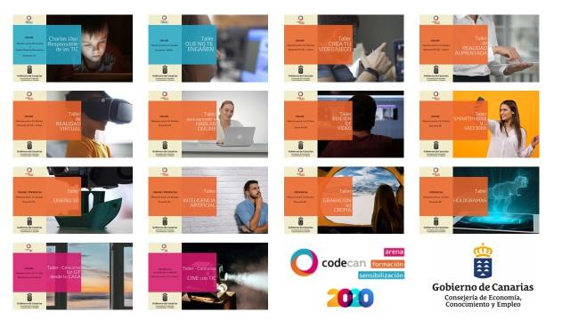Talleres de Competencias Digitales en Canarias (CODECAN) / CanariasNoticias.es