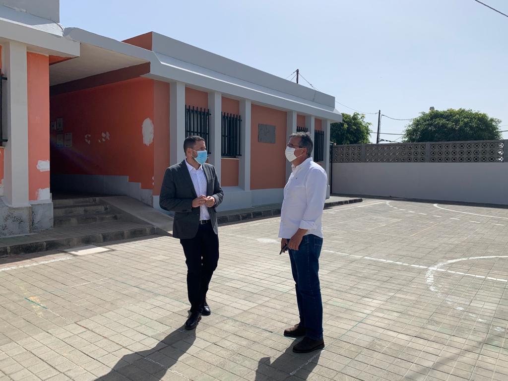 Héctor Suárez y Juan Francisco Artiles/ canariasnoticias