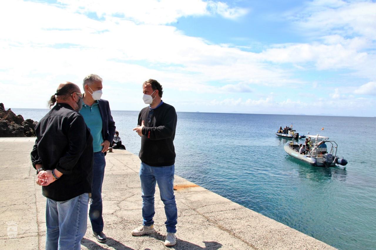 Rodaje de la serie Bienvenidos a Edén llega a Playa Chica, Puerto del Carmen/ canariasnoticias
