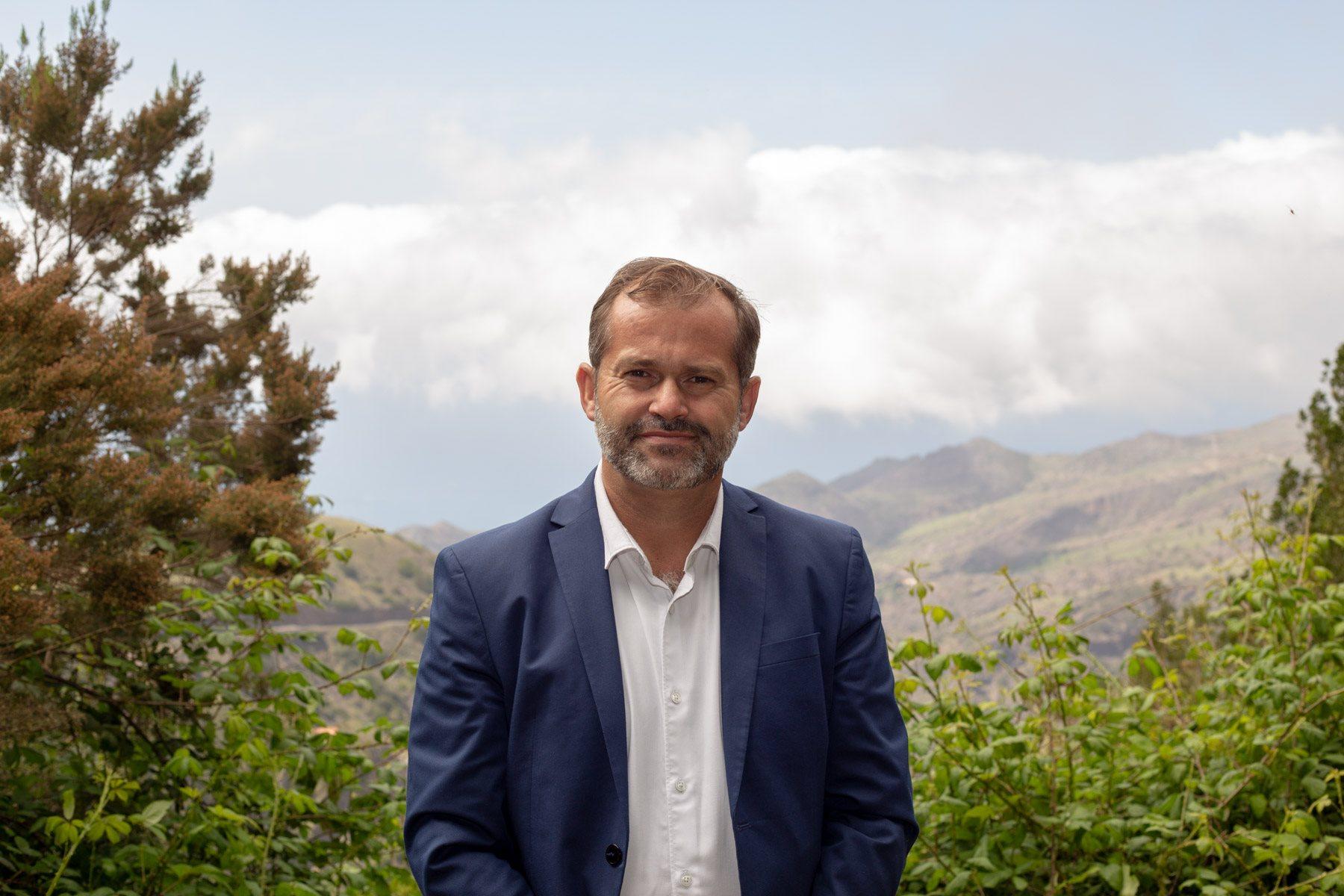 Emiliano Coello, alcalde de Vallehermoso / CanariasNoticias.es