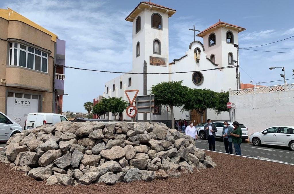 La escultura de Máximo Riol estará ubicada en el área sanitaria de El Calero en Telde (Gran Canaria) / CanariasNoticias.es