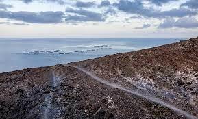 Jaulas marinas en las costas de San Bartolomé (Lanzarote) / CanariasNoticias.es