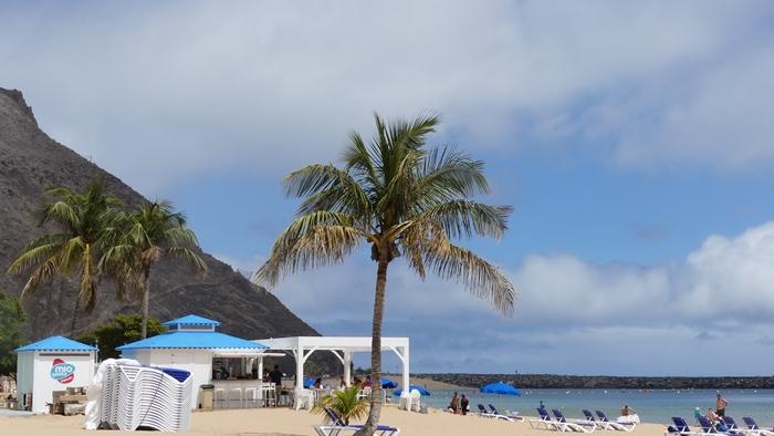 Kiosco en la playa de Las Teresitas, Santa Cruz de Tenerife / CanariasNoticias.es