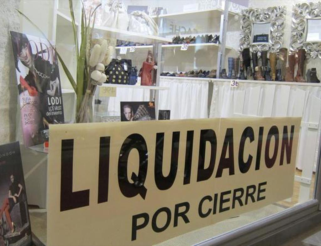 Liquidación por cierre de comercio
