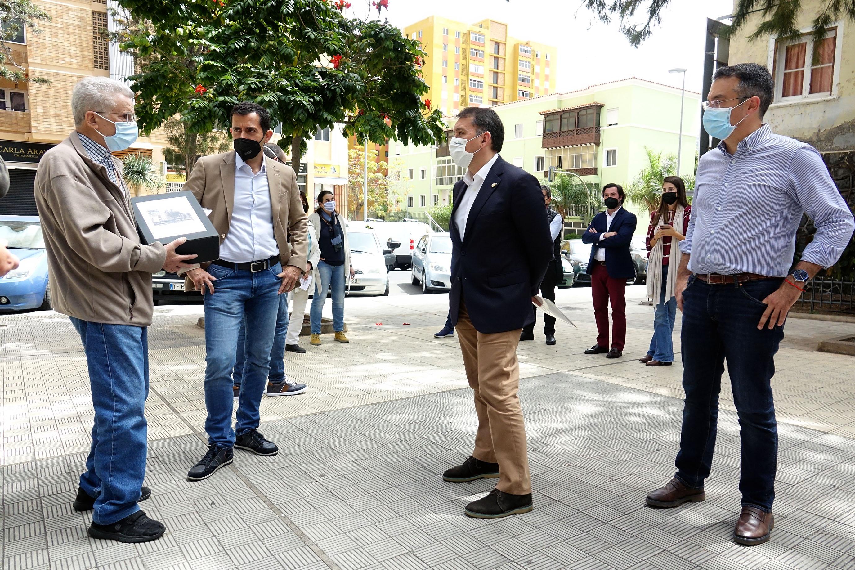 Proyecto de Áreas de Renovación y Regeneración Urbana (ARRU) de la plazoleta Gravina / CanariasNoticias.es