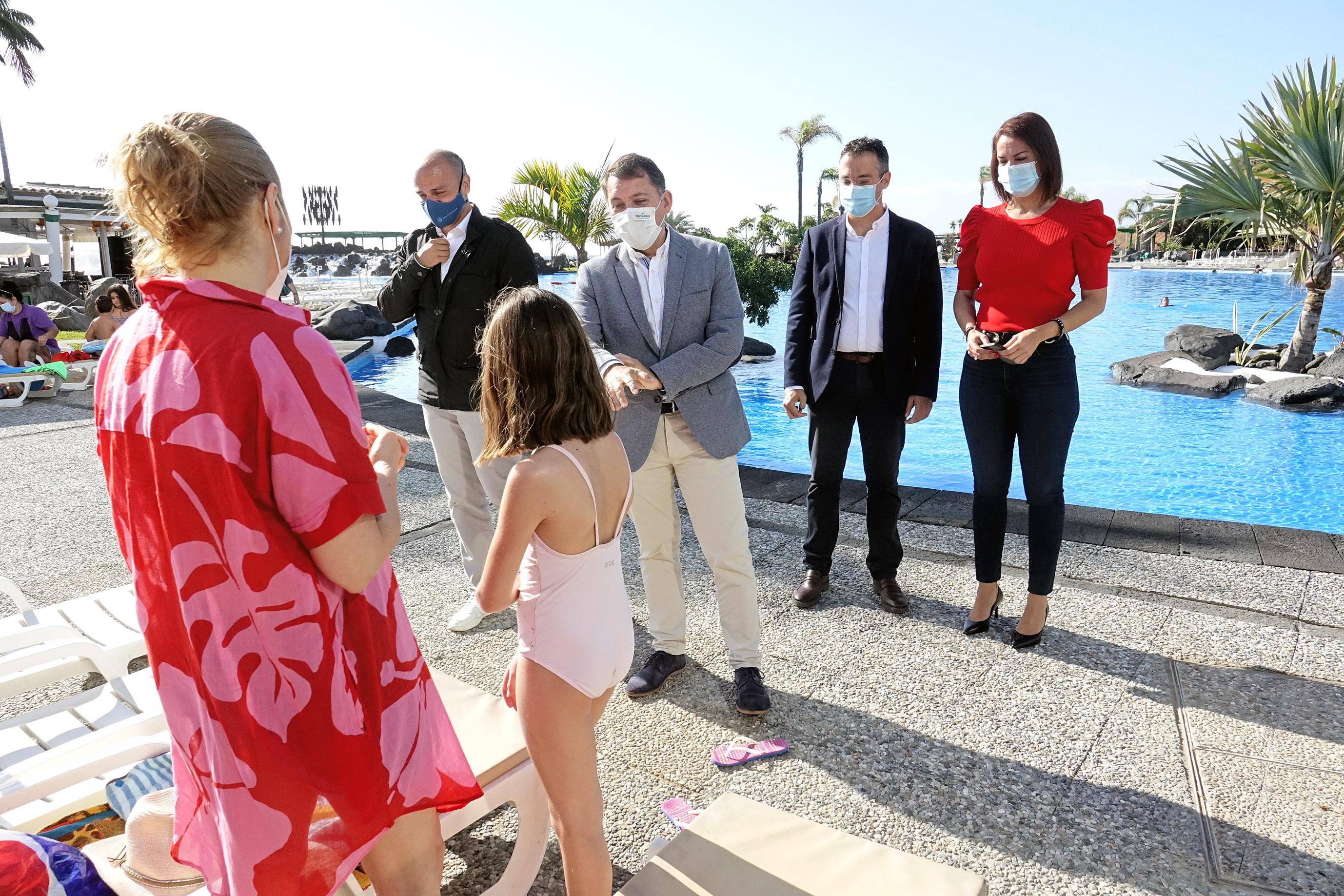 Reapertura del Parque Marítimo César Manrique de Santa Cruz / CanariasNoticias.es