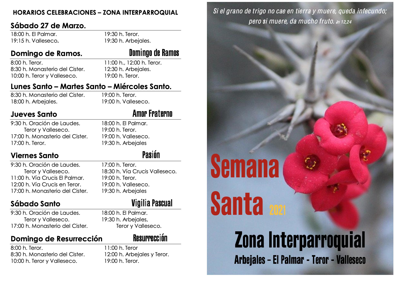 Programación de la Semana Santa en Valleseco / CanariasNoticias.es