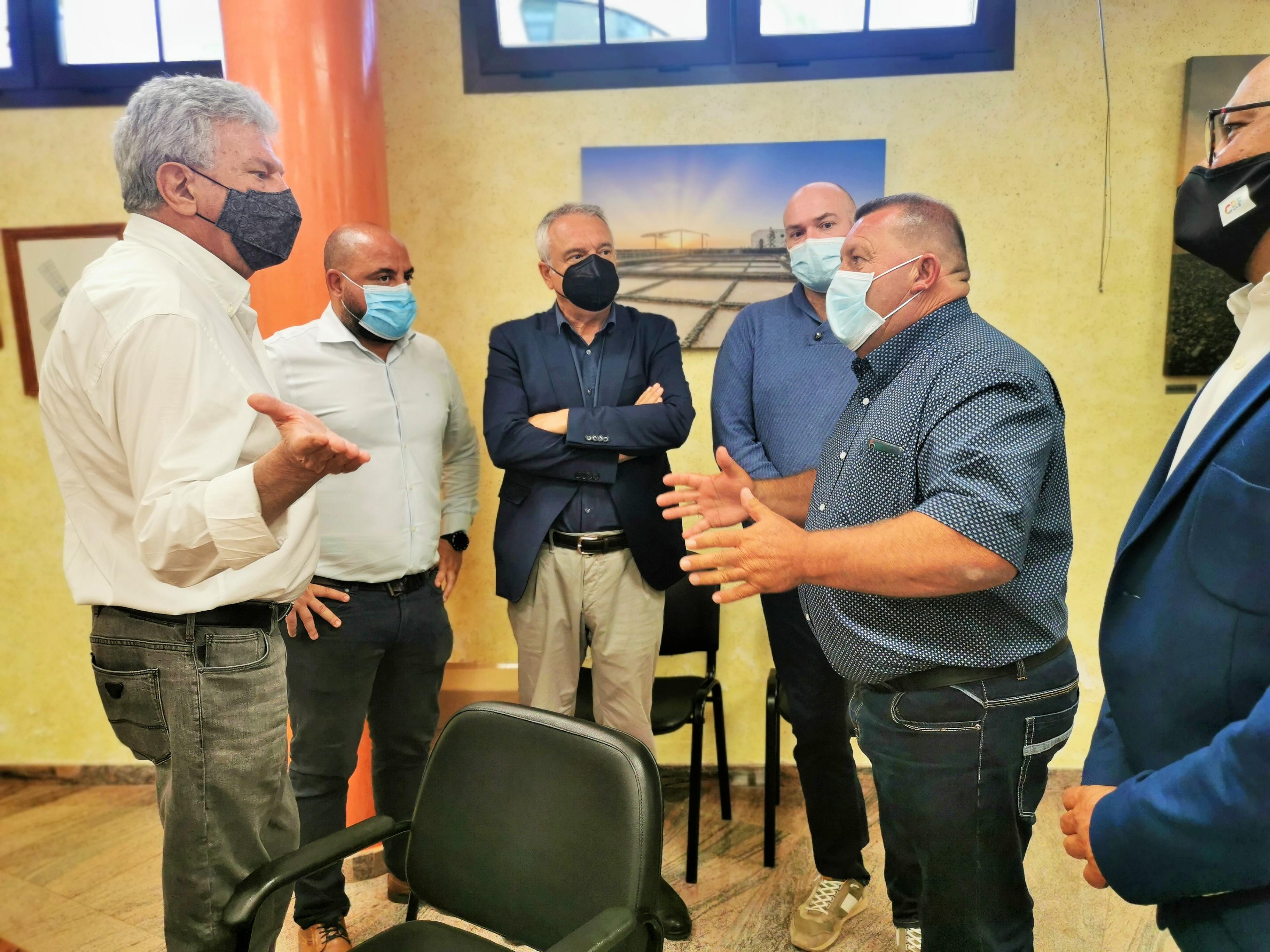 Pedro Quevedo se reúne con los empresarios de Antigua (Fuerteventura ) / CanariasNoticias.es