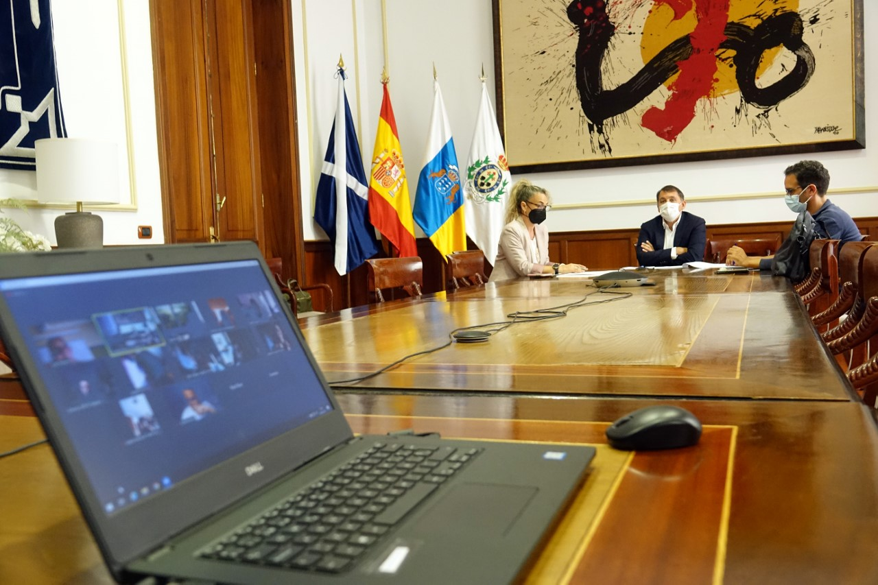 José Manuel Bermúdez y Claudia Reverón/ canariasnoticias