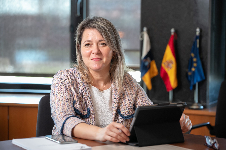 Alicia Vanoostende, consejera de Agricultura, Ganadería y Pesca del Gobierno de Canarias