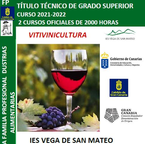 Ciclo de Grado Superior en Vitivinicultura en el IES Vega de San Mateo / CanariasNoticias.es