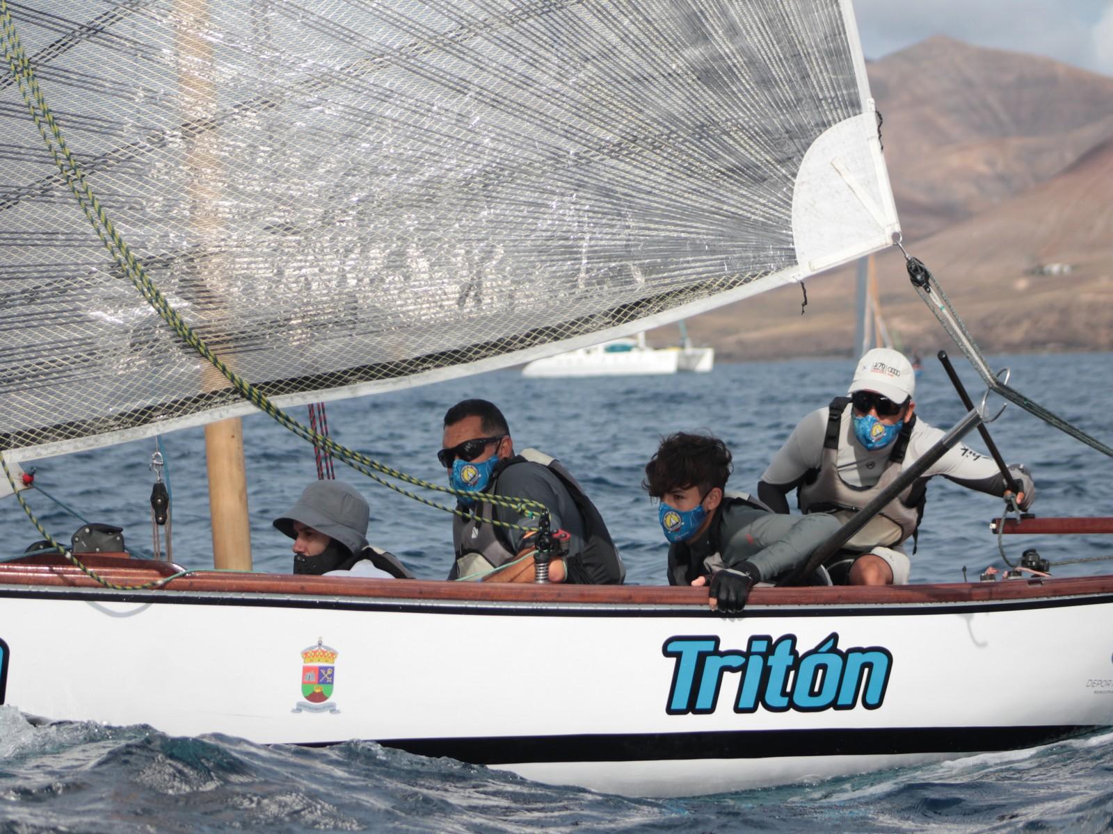 El Tritón es el primer líder de la Copa Vela Latina del Sur