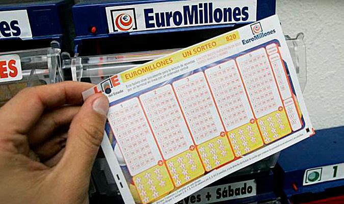 Boleto de Euromillones