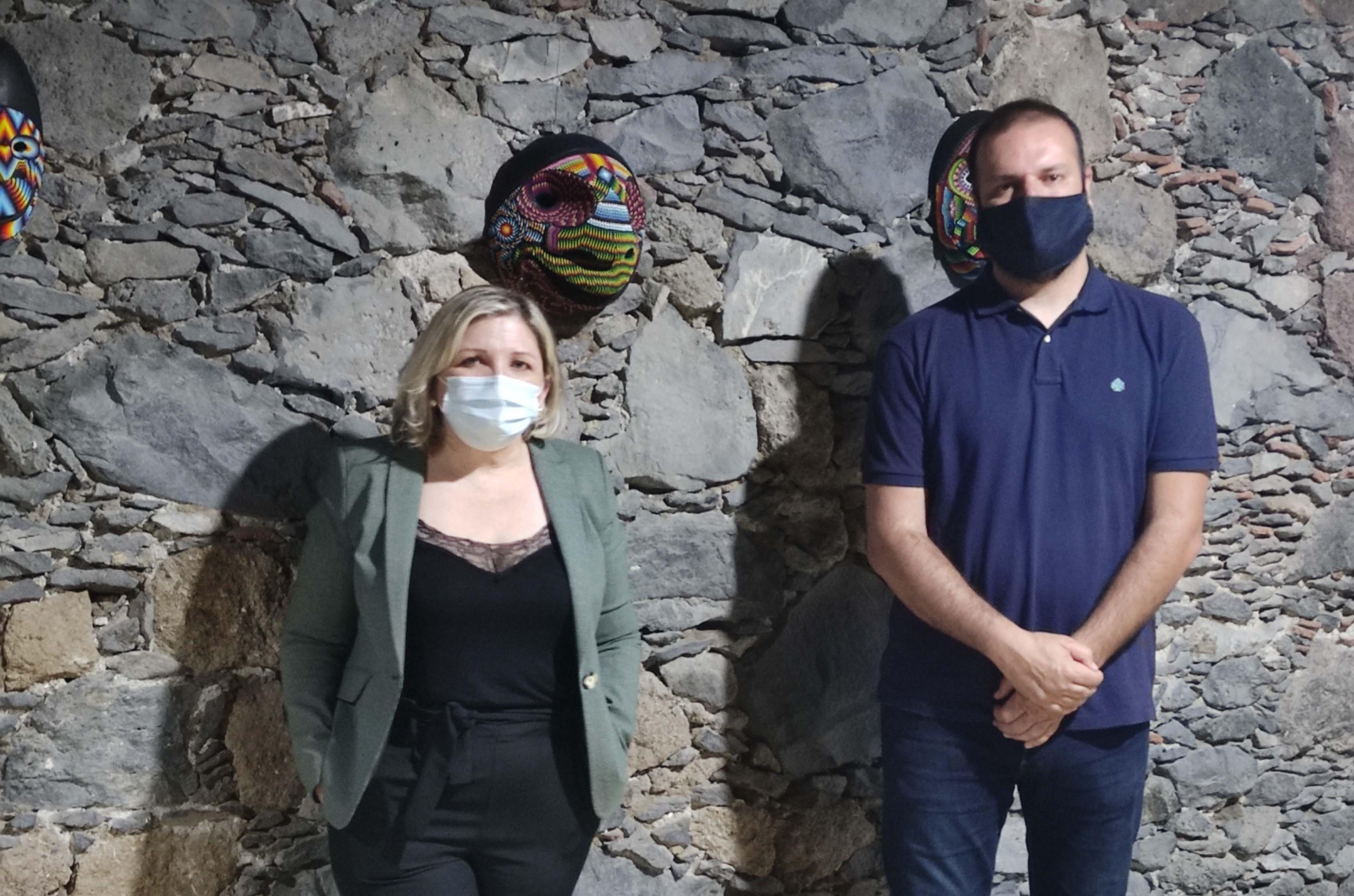 """Exposición """"Máscaras tradicionales colombianas"""" en Buenavista del Norte (Tenerife) / CanariasNoticias.es"""