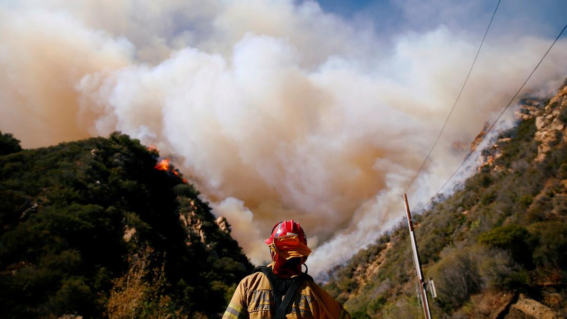 Incendios forestales en Malibú, California, EE.UU