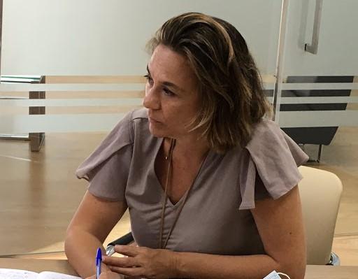 Lidia Cáceres, portavoz de Cs en el Ayuntamiento de Las Palmas de Gran Canaria