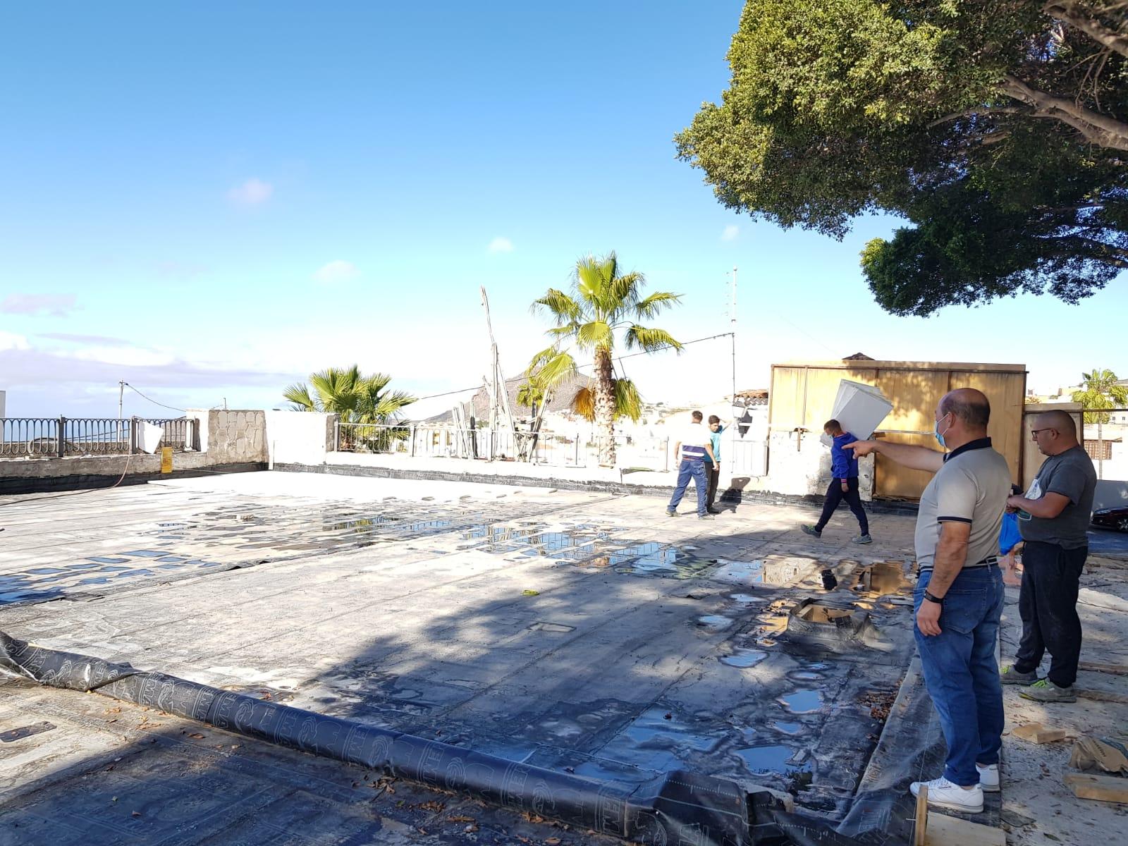 San Miguel de Abona. Rehabilitación de la plaza/ canariasnoticias