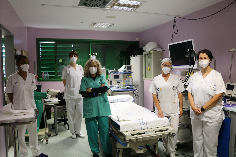 Profesionales de la sección de Digestivo del Hospital Dr José Molina Orosa / CanariasNoticias.es