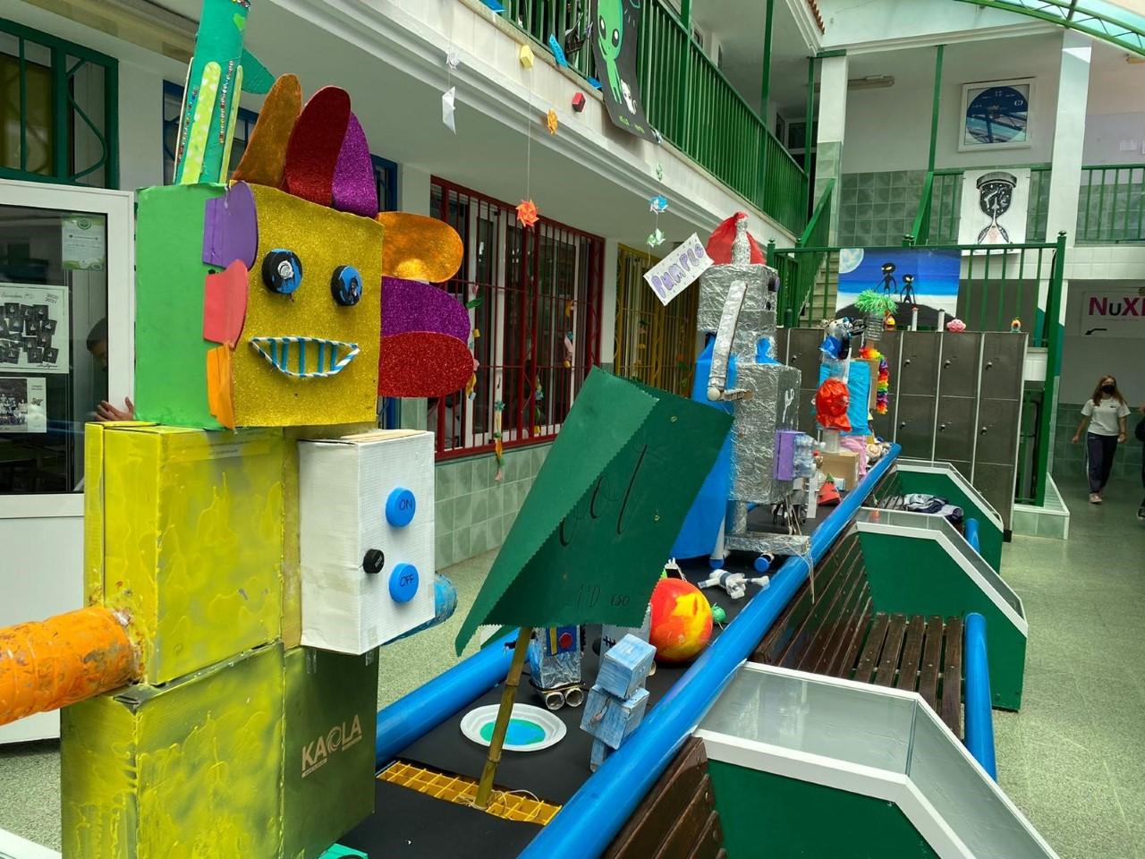 Robots y Alienígenas. Colegio Nuryana/ La Laguna