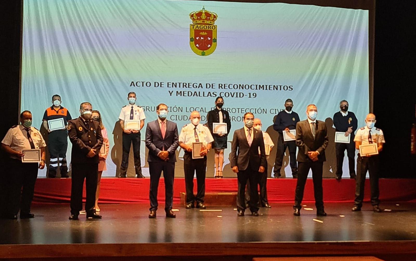Homenaje a Protección Civil de Tacoronte (Tenerife) / CanariasNoticias.es