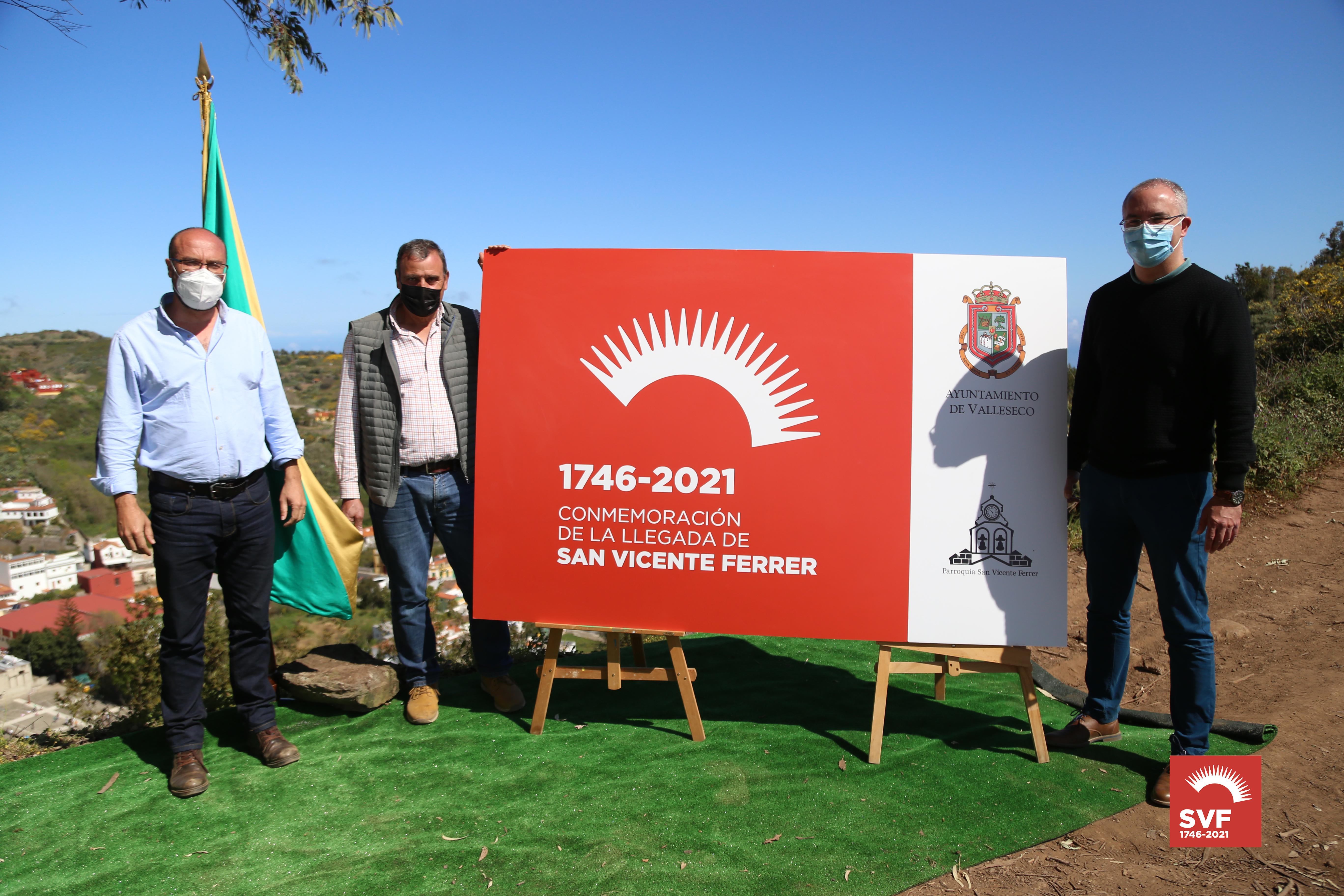 Presentación de la marca de la llegada de San Vicente Ferrer a Valleseco (Gran Canaria) / CanariasNoticias.es