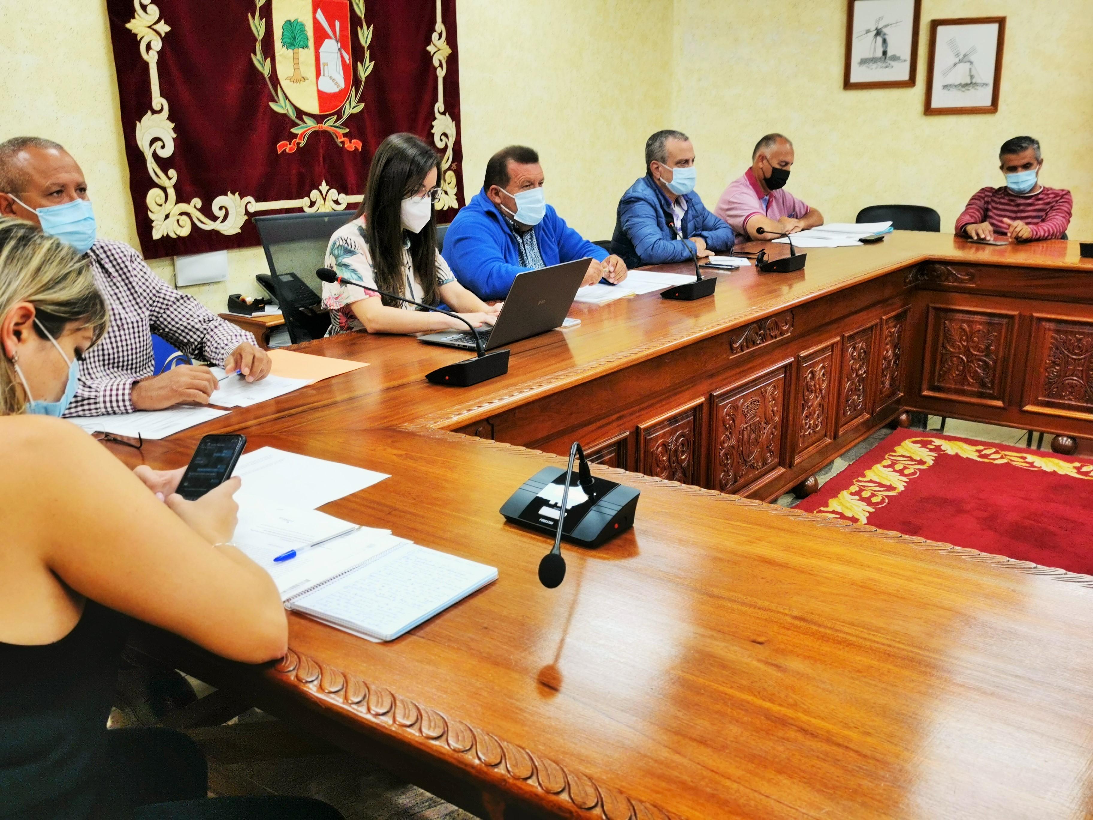 Pleno del Ayuntamiento de Antigua (Fuerteventura) / CanariasNoticias.es