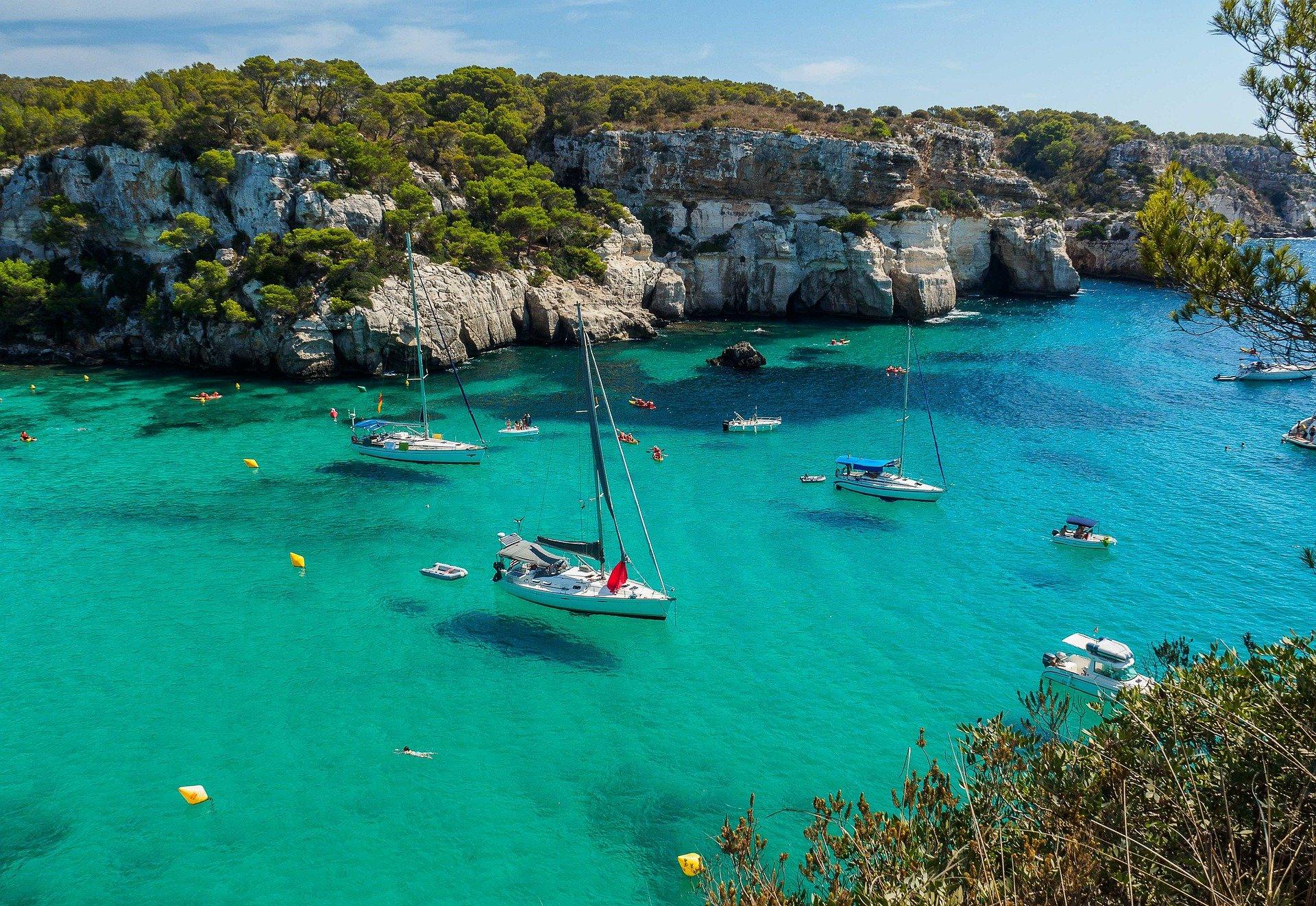 Las 3 mejores calas de Menorca