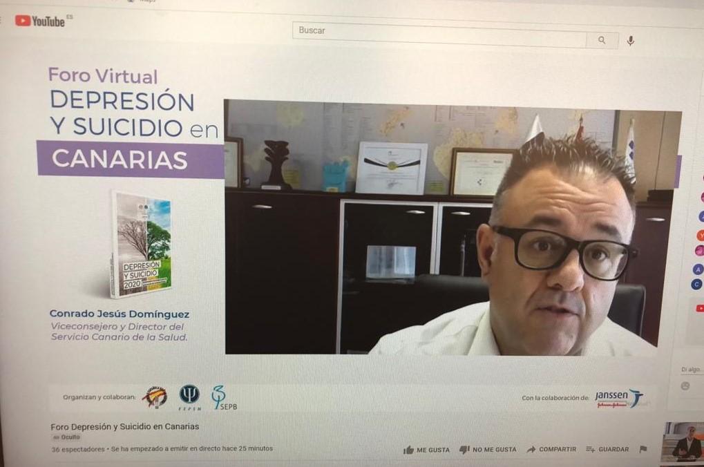 El SCS participa en un foro sobre depresión y suicidio en Canarias / CanariasNoticias.es