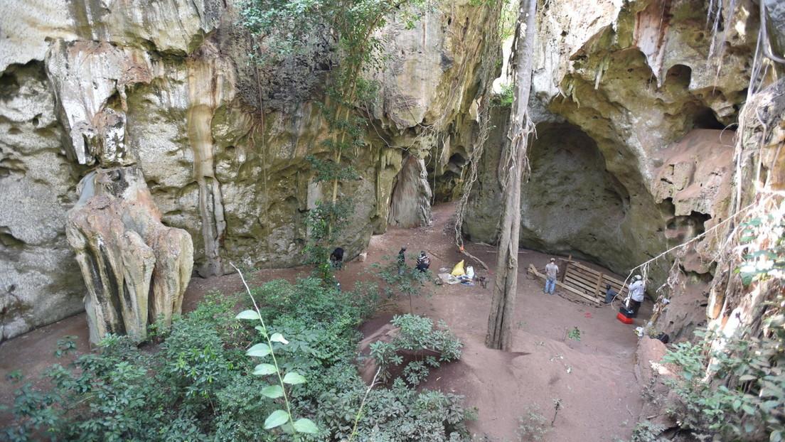 Cueva de Panga ya Saidi (Kenia)
