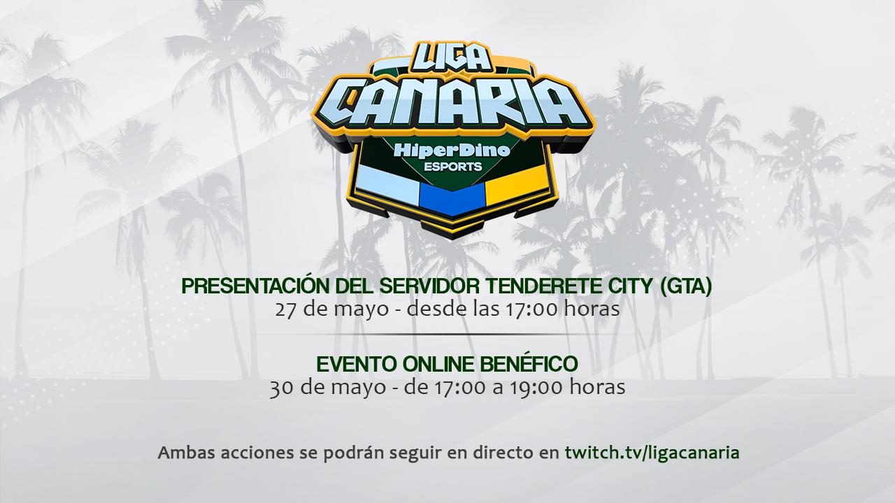 La Liga Canaria de Esports HiperDino celebra el Día de Canarias con un evento online benéfico