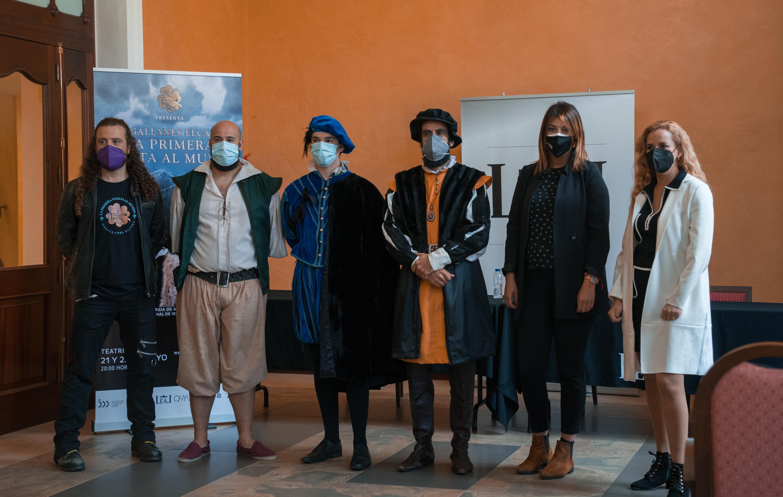 El Teatro Leal recrea la parada de Magallanes y Elcano en Tenerife / CanariasNoticias.es