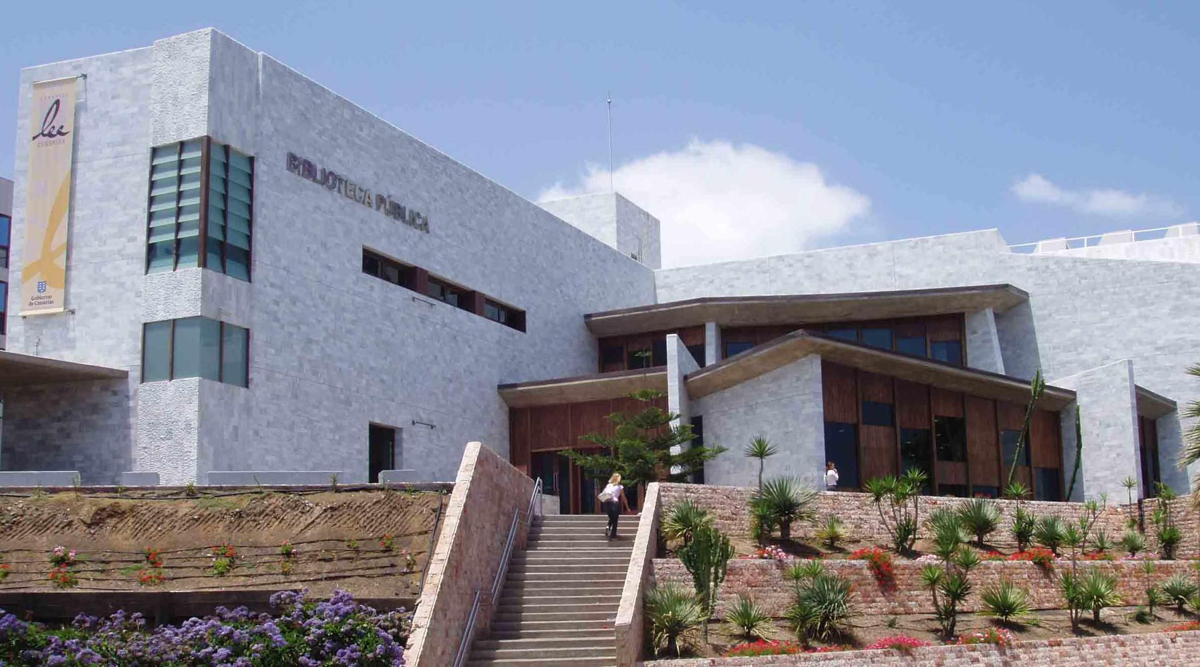 Biblioteca Pública del Estado en Las Palmas de Gran Canaria / CanariasNoticias.es