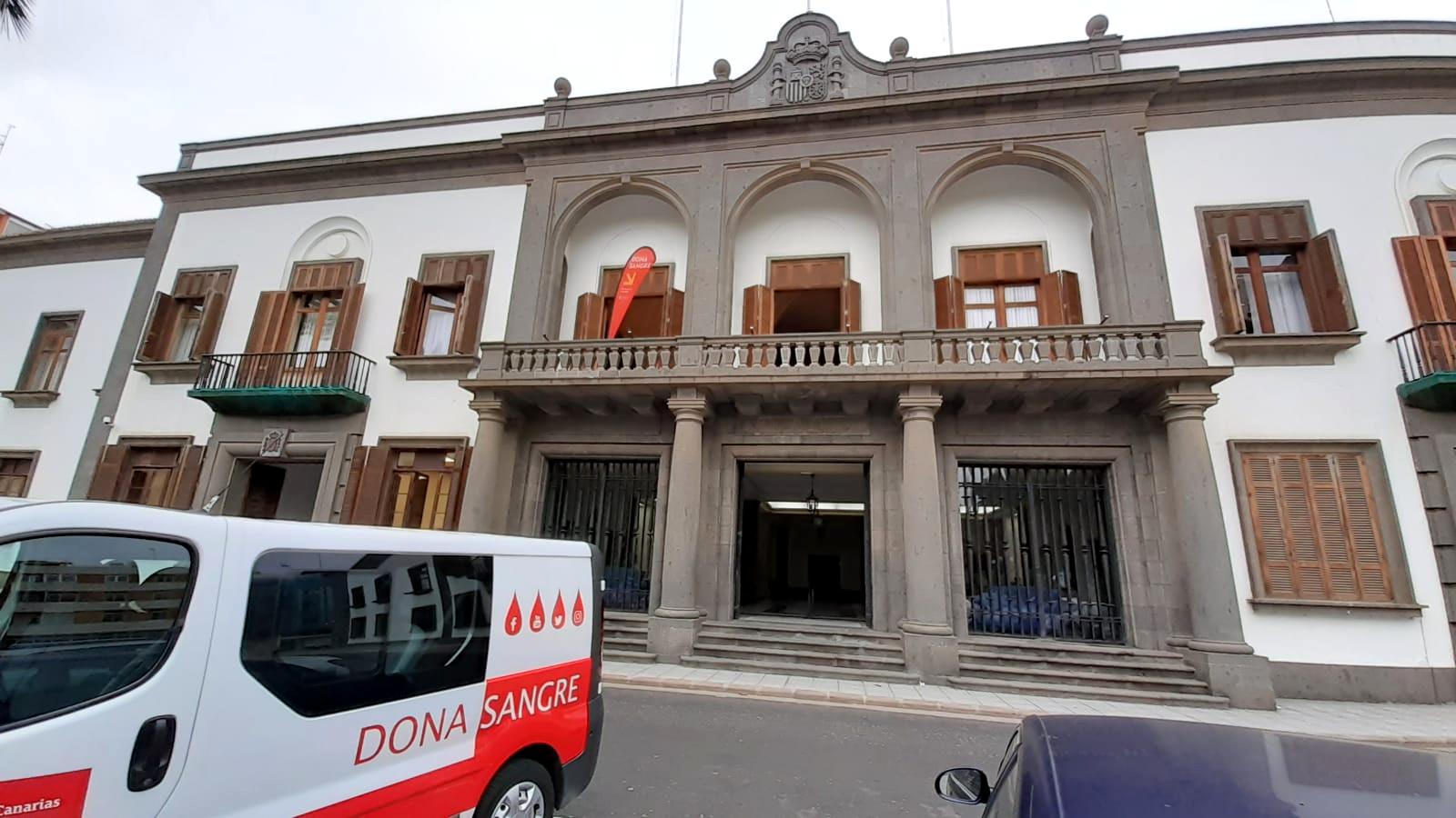 Donación de sangre en la Delegación del Gobierno en Canarias / CanariasNoticias.es