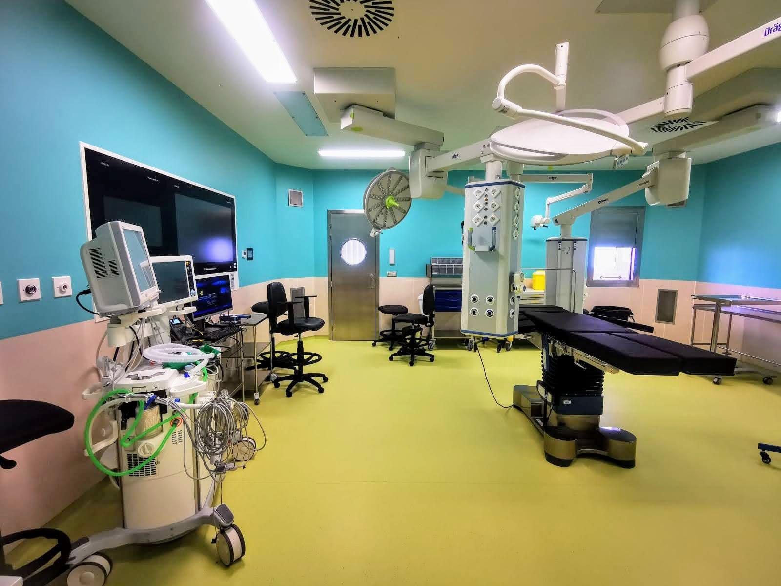 Quirófano del Hospital del Sur (Tenerife) / CanariasNoticias.es