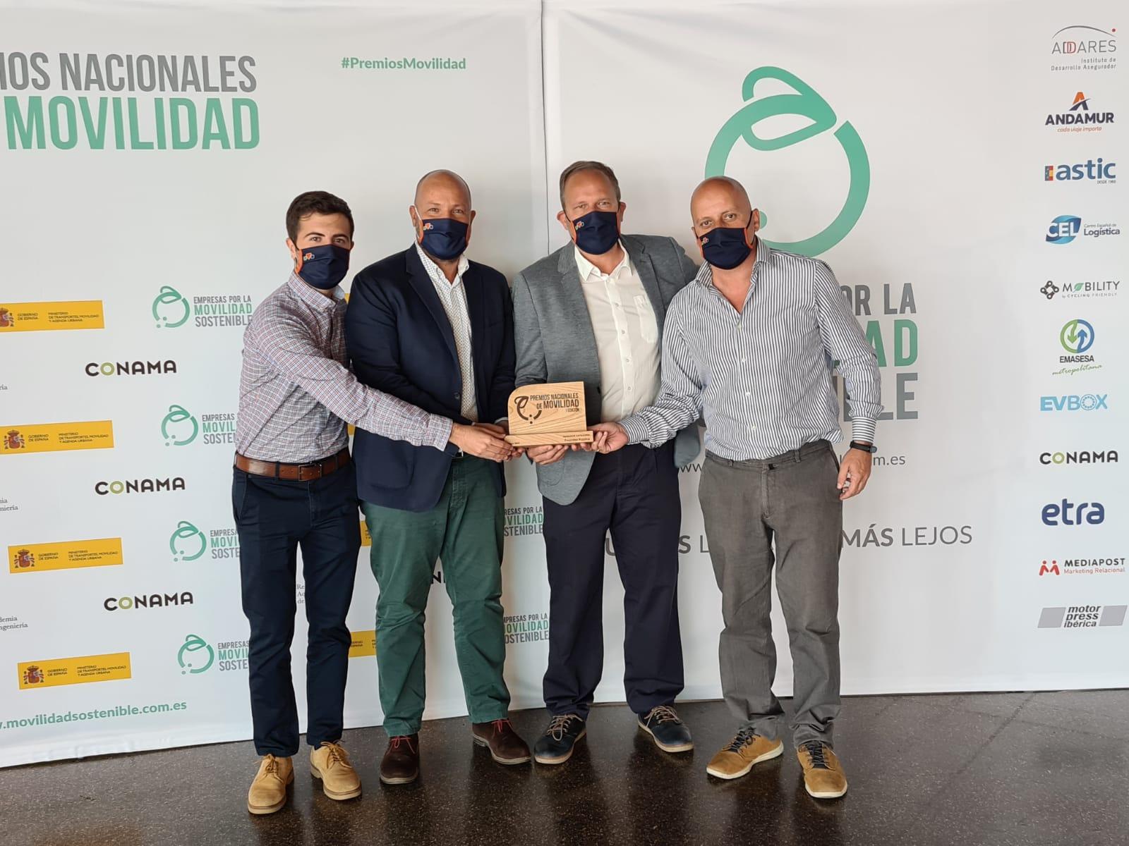 Sagulpa gana el Premio Nacional a la Movilidad / CanariasNoticias.es