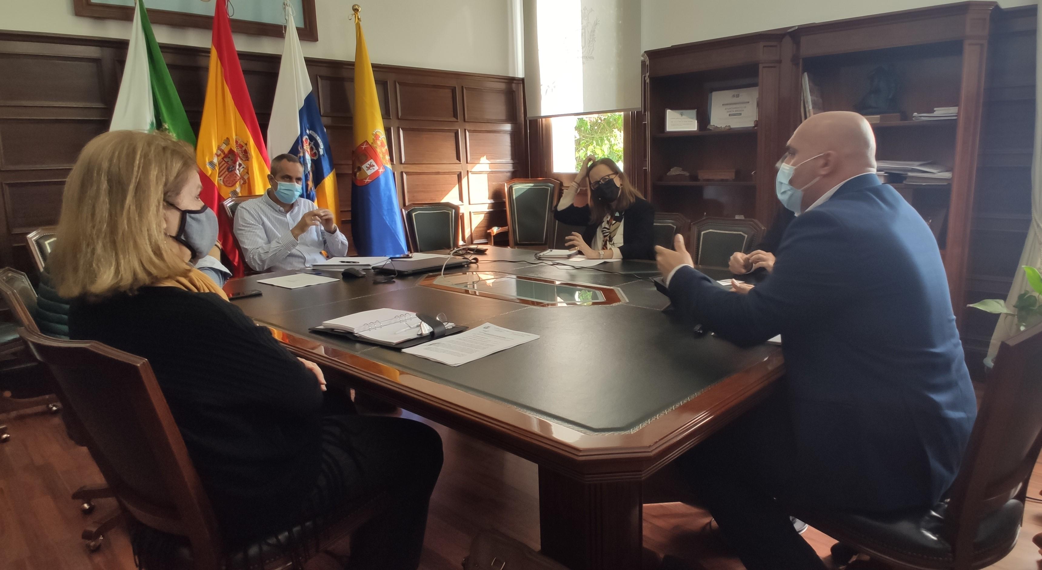 Gesplan propone al Ayuntamiento de Santa Brígida nuevas vías de trabajo conjunto / CanariasNoticias.es