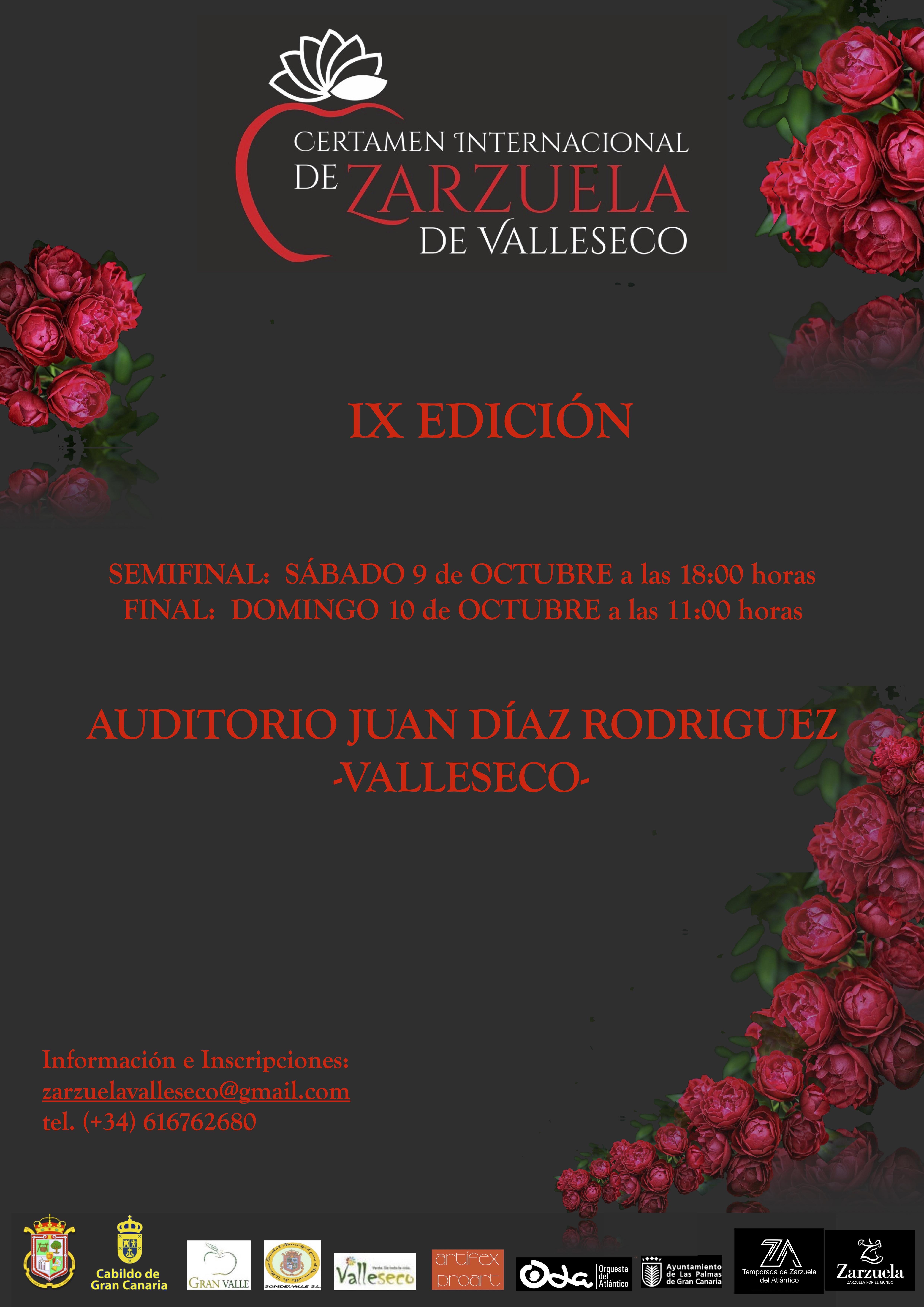 IX Certamen Internacional de Zarzuela de Valleseco/ canariasnoticias