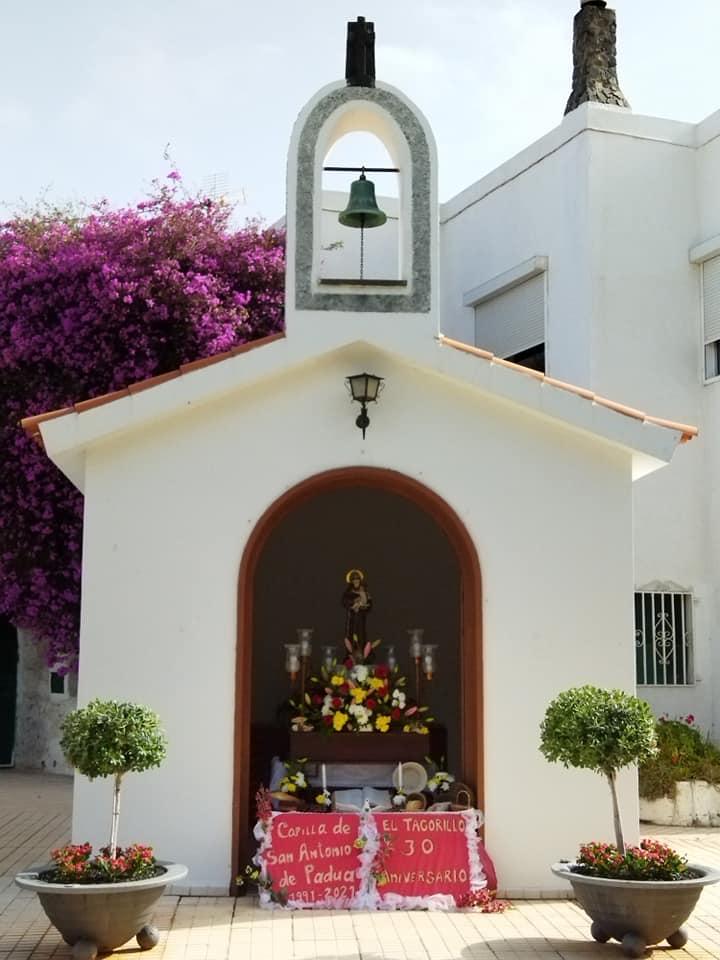 Capilla de San Antonio en El Tagorillo, Barranco Hondo. Candelaria/ canariasnoticias