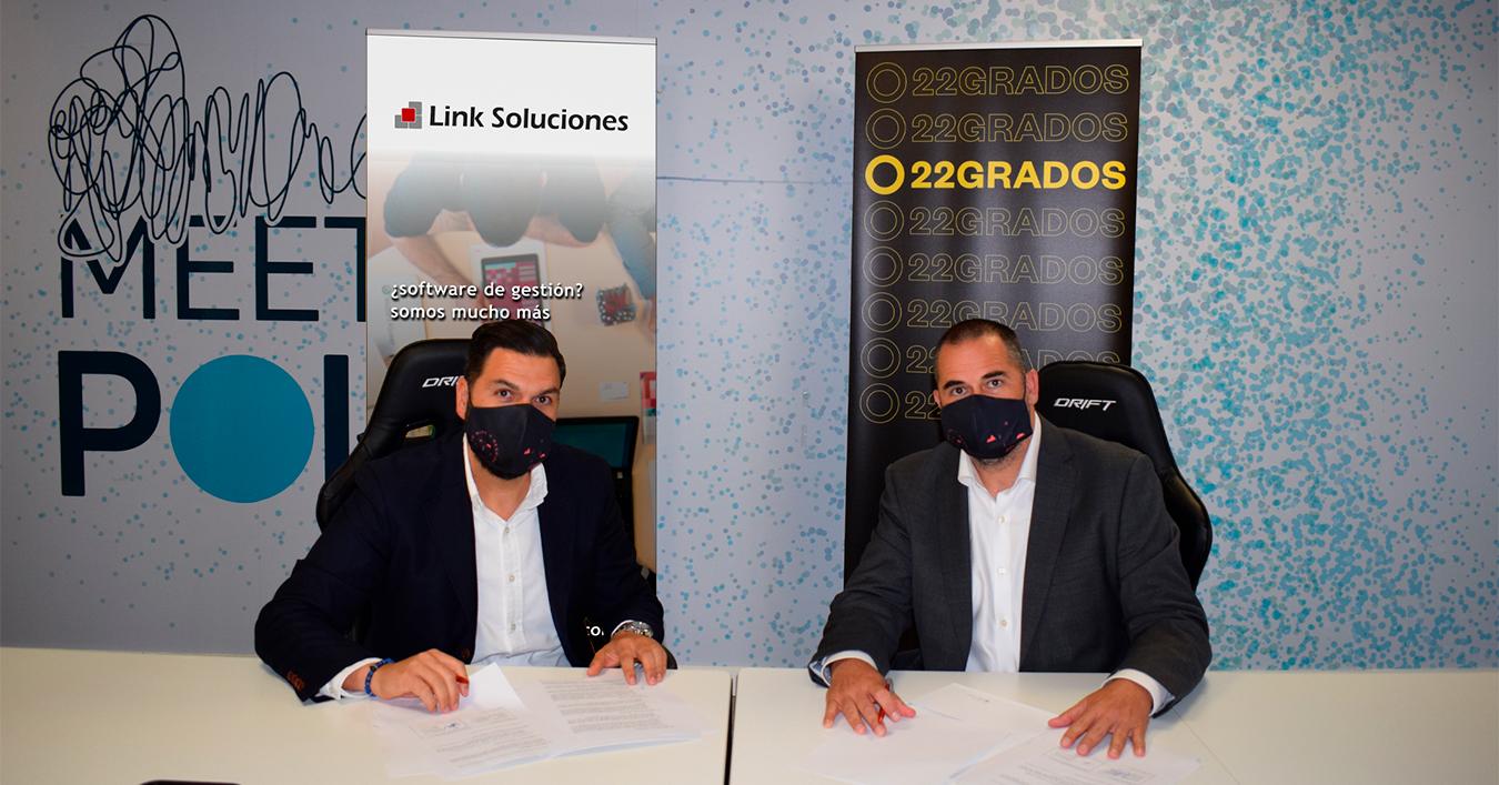 Acuerdo entre Link Soluciones y 22grados / CanariasNoticias.es