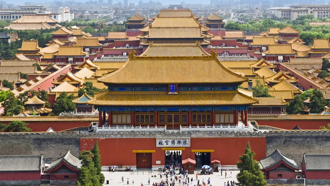 Ciudad Prohibida en Pekín (China)