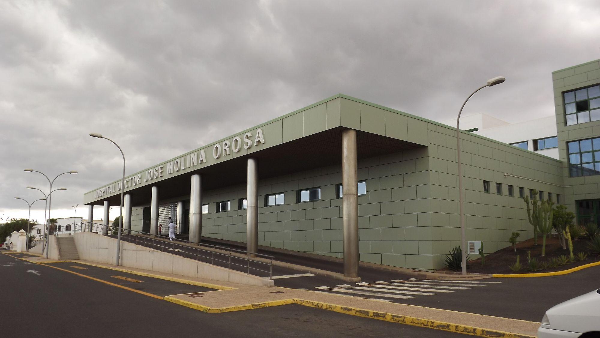 Hospital Dr. José Molina Orosa (Lanzarote) / CanariasNoticias.es