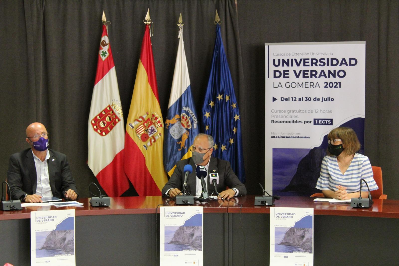 Presentación de la Universidad de Verano de La Gomera / CanariasNoticias.es