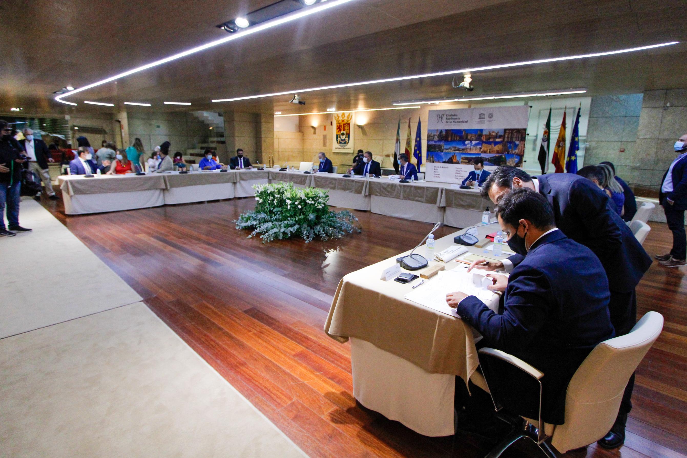 Reunión de las Ciudades Patrimonio de la Humanidad en Mérida / CanariasNoticias.es