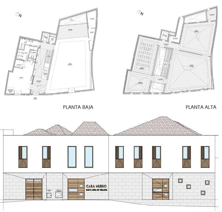 Planos de la Casa Museo de La Fortaleza en Santa Lucía (Gran Canaria) / CanariasNoticias.es