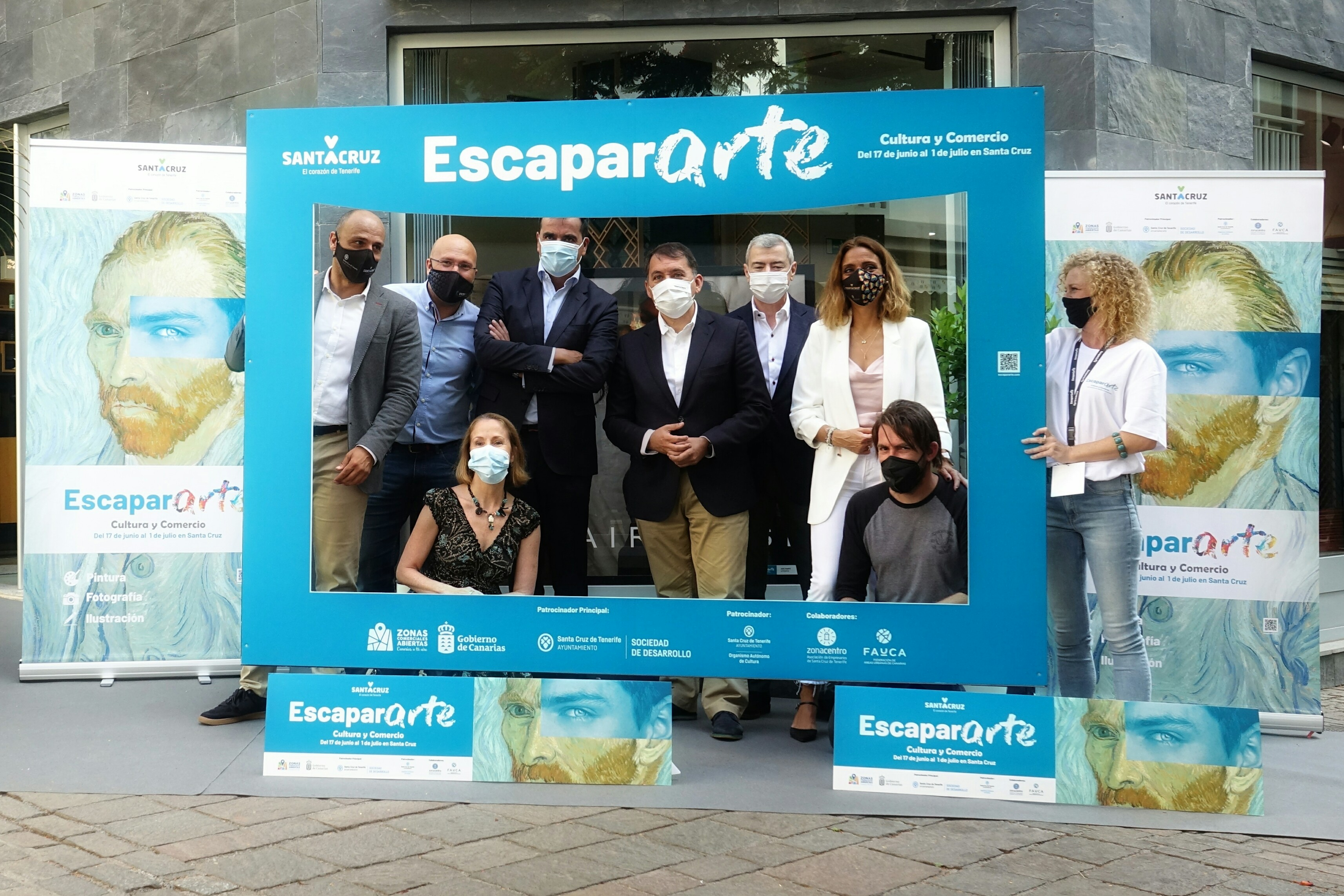 """Segunda edición de """"EscaparARTE"""" en Santa Cruz de Tenerife / CanariasNoticias.es"""