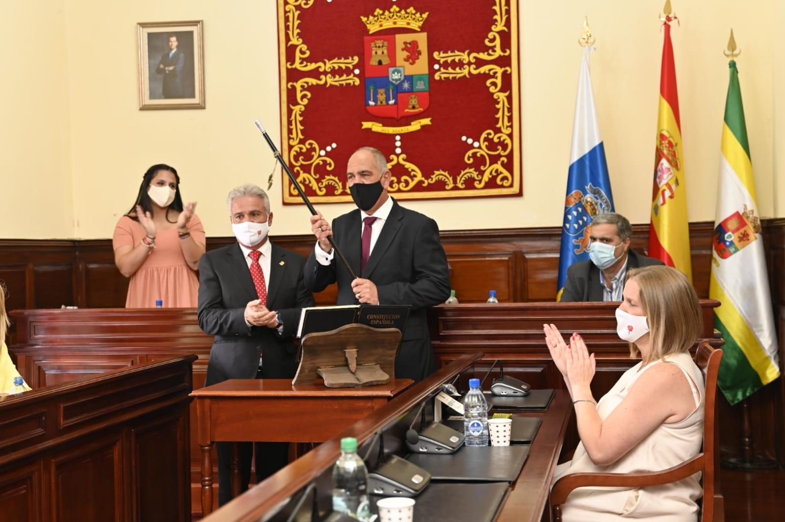 Sergio Nuez, nuevo alcalde Teror/ canariasnoticias