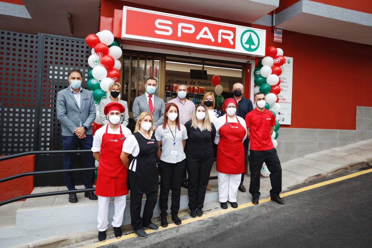 Inauguración de SPAR Becerril en Guía (Gran Canaria) / CanariasNoticias.es