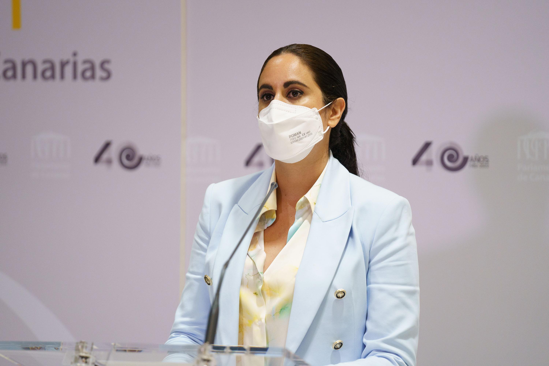Vidina Espino, portavoz Cs en el Parlamento de Canarias / CanariasNoticias.es